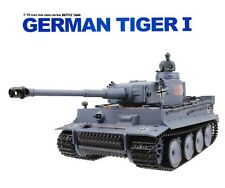 1:16 German Tiger I RC Heavy Battle Tank Airsoft Remote Control W/ Smoke & Sound