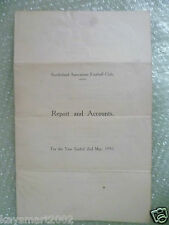 SUNDERLAND Football Club Ltd Annual Accounts & Directors Reports Y/E 1953 2 May
