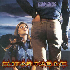 Scorpions Guitar Tab ANIMAL MAGNETISM Lessons on Disc