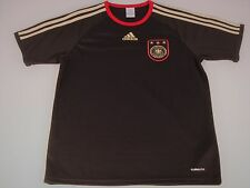 Adidas GERMANY DEUTSCHER FUSSBALL-BUND BLACK SOCCER JERSEY Men's Small S NWOT