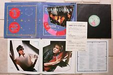 Duran Duran ‎– Arena  EMI ‎EMS-91095 Japan Vinyl LP + 8-page full colour booklet
