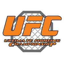 "UFC Fighting Car Bumper Window Tool Box Sticker Decal 5""X4.1"""