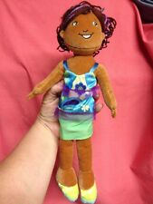 "Groovy Girls Brenna Plush African American 13"" Doll - Manhattan Toy"