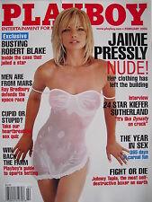 JAIME PRESSLY February 2004 Playboy KIEFER SUTHERLAND  ALIYA WOLF