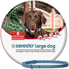 Seresto Foresto Bayer Flea&Tick Collar 70cm Large Dogs OVER 8kg 18LBS