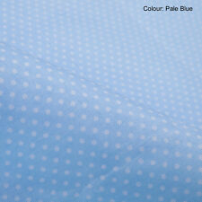 Neotrims Polka Dot Woven Fabric Material, Cotton Polyester, Wholesale Price