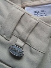 EQUETECH BREECHES MENS BEIGE SIZE 24