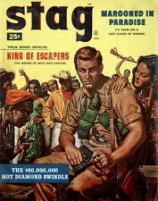 Stag Marooned in Paradise FRENCH LEGION King of Escapers ALBERT ANASTASIA gga