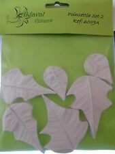 Poinsettia Veiner set 2 6059A by Aldaval Veiners Sugarcraft Cake Decorating