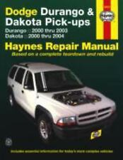 Dodge Durango 2000-2003, Dodge Dakota 2000-2004 (Haynes Repair Manual)-ExLibrary