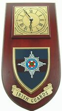 IRISH GUARDS CLASSIC HAND MADE TO ORDER WALL CLOCK