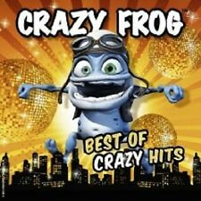 "CRAZY FROG ""BEST OF CRAZY HITS"" 2 CD+DVD NEU"
