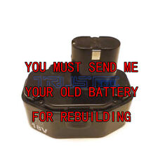 Re-build service for MAC TOOL 18 VOLT BATTERY BP18012 2.0 NICD