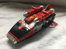 POWER RANGERS LOST GALAXY OMEGAZORD 1-RED ZORD-MMPR-2000-BANDAI-DIE CAST