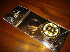 BOSTON BRUINS - NHL LICENSED LOGO KEYCHAIN - TOP QUALITY METAL - NEW!