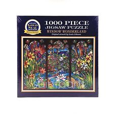 "NIB Window Wonderland Gold Seal Bits & Pieces 1000 Piece Jigsaw Puzzle 20"" x 27"""