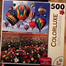 500 Piece Colorluxe Hot Air Balloon Jig Saw Puzzle