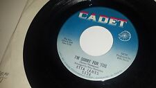 ETTA JAMES Only Time Will Tell / I'm Sorry For You CADET 5526 45 7""