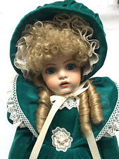 "Treasure Yesteryear Lady Anne 24"" Articulated FULL BODY Porcelain Doll ""Melissa"""