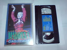 MADONNA LIVE FROM ITALY CIAO ITALIA - VHS
