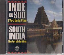 """""""INDE DU SUD: L'Art de la Vina"""" / """"SOUTH INDIA: The Art of the Vina"""" CD 1987"""
