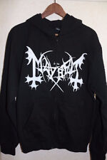 MAYHEM De Mysteriis Dom Sathanas Hoodie L Official Darkthrone Satyricon