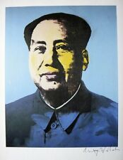 "Andy Warhol, ""MAO TSE TUNG"" Hand signed, 1979 w/Authenticity"