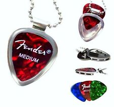 PICKBAY Guitar PICK Necklace SET Guitar Player Gift 4 Him Or Her Stainless Steel