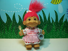 "SHORT ORDER COOK - 5"" Russ Troll Doll - NEW IN BAG - Strawberry Red Hair"