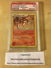 Pokemon Charizard B&W Holo Legendary Treasures 19/113 PSA 7 NM