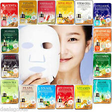 16 PCS Face Mask Sheet Pack Facial Skin Care Masque Moisture Essence K-Beauty