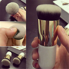 Pro Beauty Makeup Cosmetic Face Powder Brush Blush Brushes Foundation Tool White