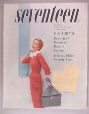 Seventeen Magazine - July, 1953 ~~ nice condition