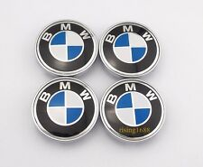 4x 60mm Car Wheel Center Covers Tyre Rim Trim Hub Caps Styling For BMW B&W 6001