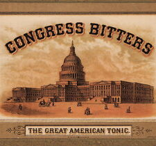 Congress Bitters American Tonic Alcoholism Dipsomania Cure old Advertising Card