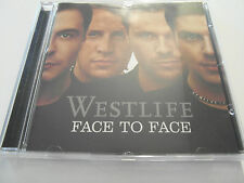 Westlife - Face To Face  (CD Album 2005) Used Very Good