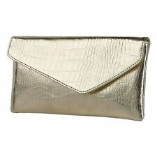 Avon Gold Clutch / cosmetic bag / Purse - NEW stylish - Excellent
