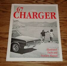 1967 Dodge Charger Illustrated Facts Feature Manual 67