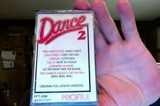 Dance 2- VA- Profile Records label- new/sealed cassette- Hardcastle/52 Street