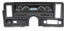 Dakota Digital 69-76 Chevy Nova Dash Analog Gauges Black White VHX-69C-NOV-K-W