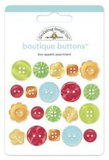 NEW DOODLEBUG DESIGNS BON APPETIT BOUTIQUE BUTTONS