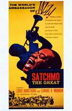 """New """"Satchmo the Great"""" Jazz Music Great Louis Armstrong Movie Art Poster 175809"""