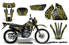 AMR Racing Suzuki DRZ 200 SE Graphic Number Plate Kit MX Bike Decals 96-09 WDW Y
