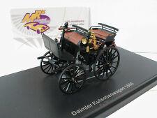 NEO 43045 # Daimler Kutschenwagen Baujahr 1886 schwarz 1:43 NEUHEIT