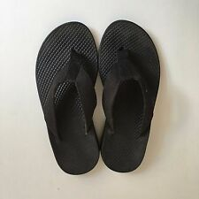 Chaco Women's Size 5 Flip Flop EcoTread Sandals Slip On Thong Sandals Black USA