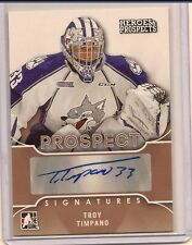 TROY TIMPANO 2015-16 LEAF ITG HEROES & PROSPECTS PROSPECT SIGNATURE AUTO