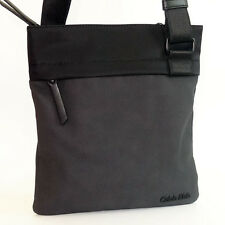 Calvin klein Bag NEW Black BO Flat Crossover BAG Shoulder/Messenger medium Bag