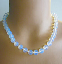"""Opalescent Moonstone Necklace 18"""" Long"""