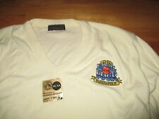 1991 NCAA FINAL 4 Champions DUKE BLUE DEVILS Embroidered (XL) Sweater w/ Sticker