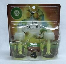 2 Refills Air Wick Life Scents SUNSHINE COTTON Scented Oil (1 Pack)